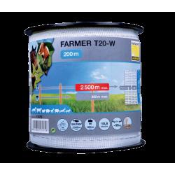 Taśma FARMER T20-W biała